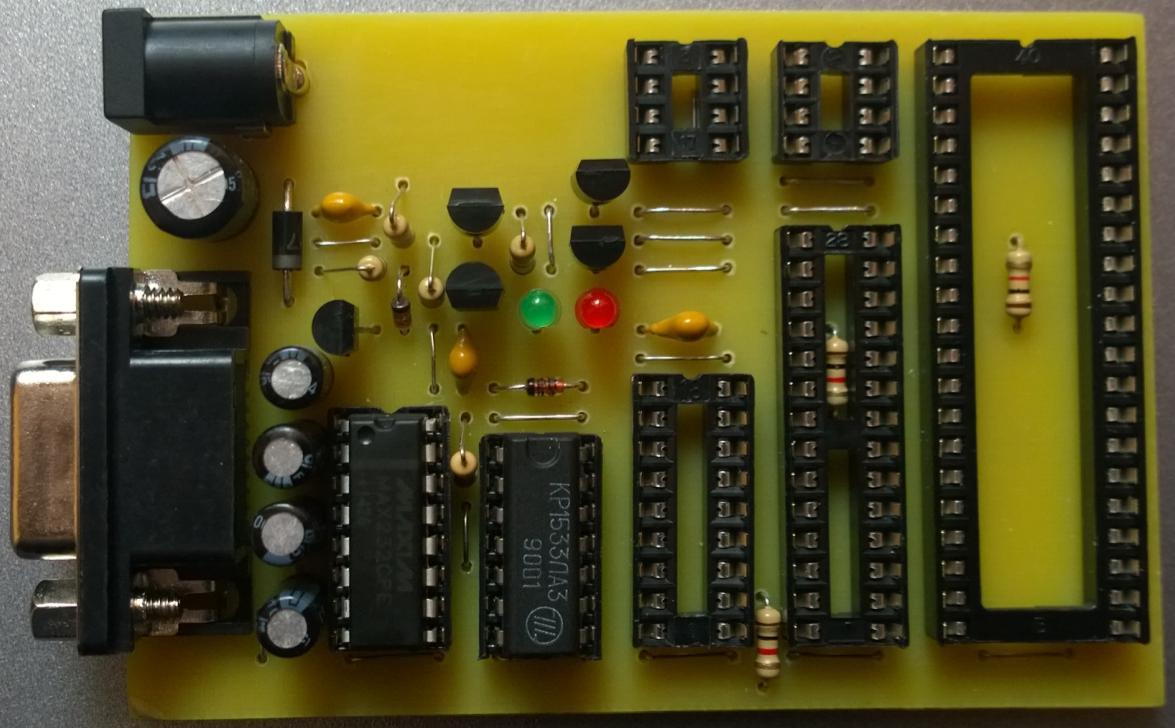 как прошить микроконтроллер atmega8 пошаговая инструкция